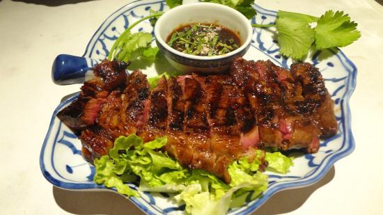 T'chokdy : Entrecôtes de bœuf grillé