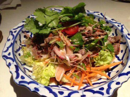 T'chokdy : Salade de bœuf grillé
