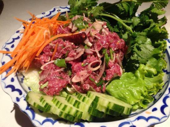T'chokdy : Salade de bœuf haché