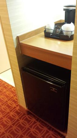 Fairfield Inn & Suites Baltimore White Marsh: refrigerator