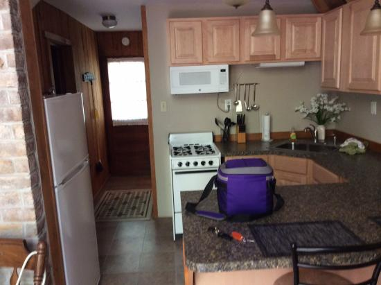 Ole Mink Farm Recreation Resort: Kitchen (has everything you need)