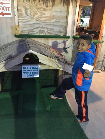 Island Miniature Golf Photo