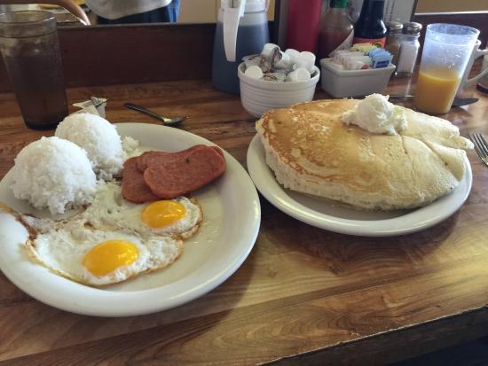 Best Breakfast Foto Hawaiian Style Cafe Kamuela Tripadvisor