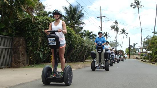 Segway of Hawaii- Kailua : Fun activity!