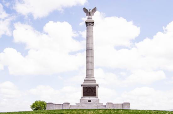 Sharpsburg, MD: One of the monuments