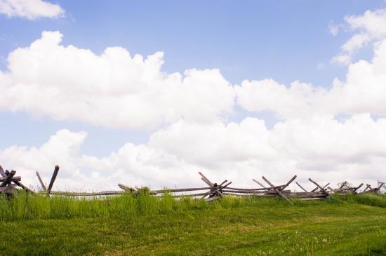 Sharpsburg, MD: Portion of the battlefield
