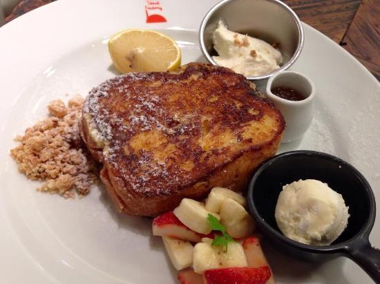 The french toast factory grand tree musashikosugi for Alif tree french cuisine
