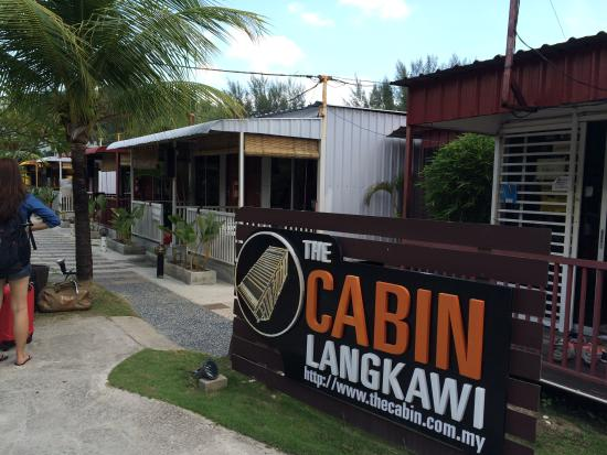 The Cabin Langkawi: View of the cabin rooms in a row