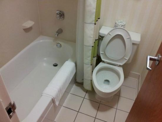 Fairfield Inn Scottsdale North : Tiny bathroom