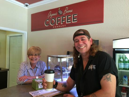 Organic Beans Coffee Company: BST's GunSlinger with Jane at Organic Bean Coffee Co.