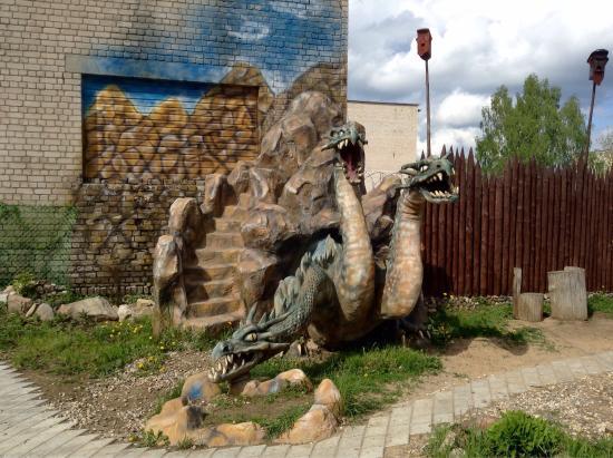Kimrsky District, Rússia: Просто суперская - эта деревня Гадово! И обитатели в ней совсем не страшные, а просто мудрые и у