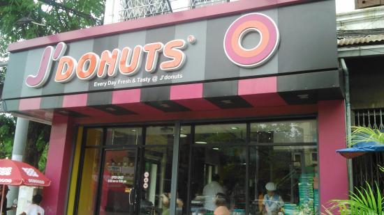 J' Donuts: 玄関