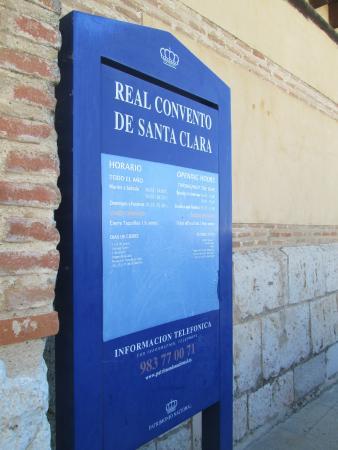Real Monasterio de Santa Clara : Información general