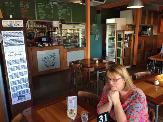 Cranky Cafe interior