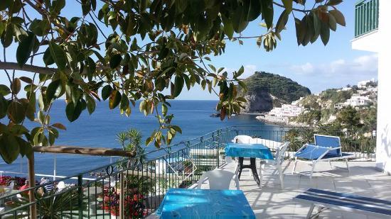 Hotel Terme Ferdinando: La vista dalla nostra camera
