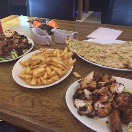 Nice Indian Breakfast Jacks Cafe Bar Wolverhampton