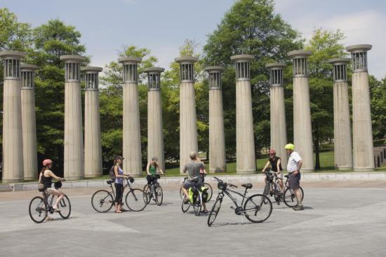 Green Fleet Bicycle Tours : Bicentennial Capitol Mall State Park