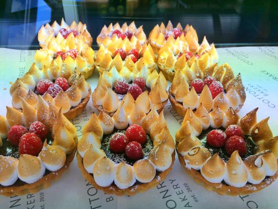 Cottonrake Bakery: Dark Chocolate and Raspberry Tart