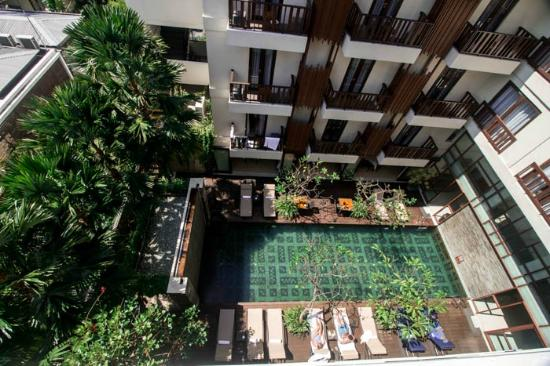 View of the pool picture of sense hotel seminyak for The best hotel in seminyak