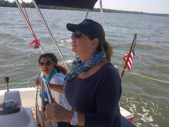 Gloucester, VA: Ramona sailing with Captain Bill