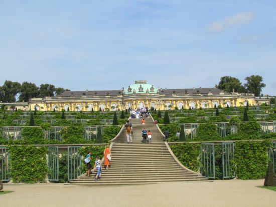 i giardini formali foto di charlottenburg palace