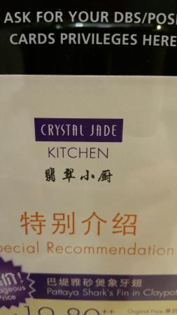 Crystal Jade Kitchen Photo