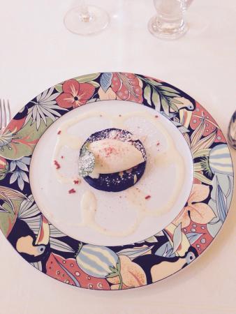 L'Auberge du XIIe Siecle: Tarte aux  griottines et chocolat