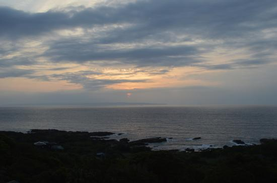 Yakushima Green Hotel : View from our window