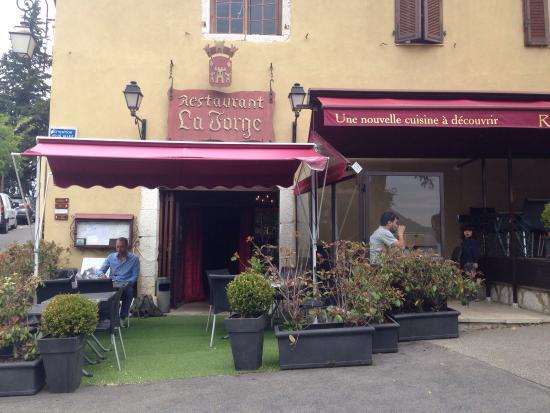 La Forge: Top restaurant!!