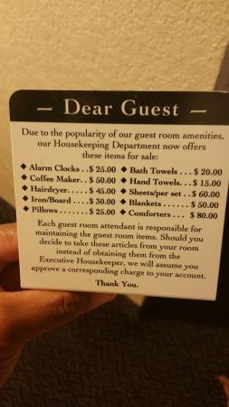 Quality Inn Near Hampton Coliseum: items that are not even in room