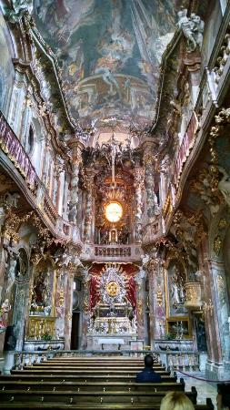 asam church a must see the inside of this small church is - Munchen Must See