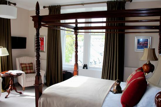 Knockendarroch Hotel & Restaurant : Bedroom