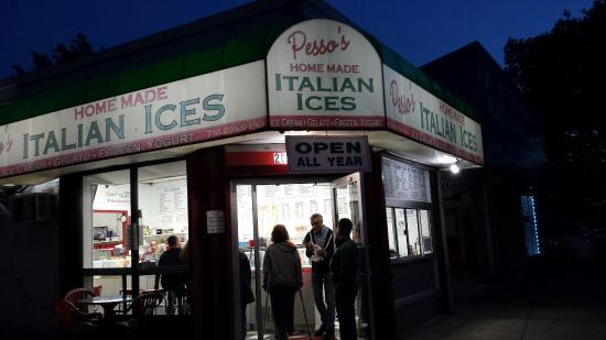 Pesso's Italian Ices: Peso's in Bayside & 35th ave
