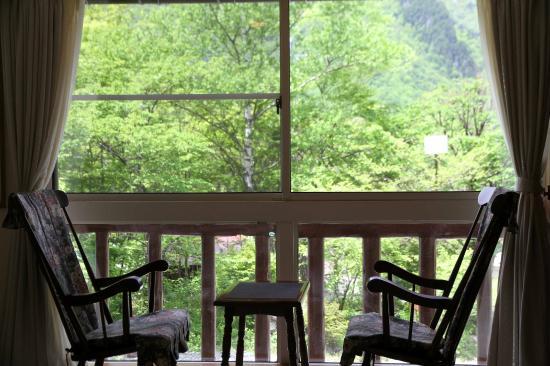 Nakaodaira: お部屋からの眺めは自然がいっぱい