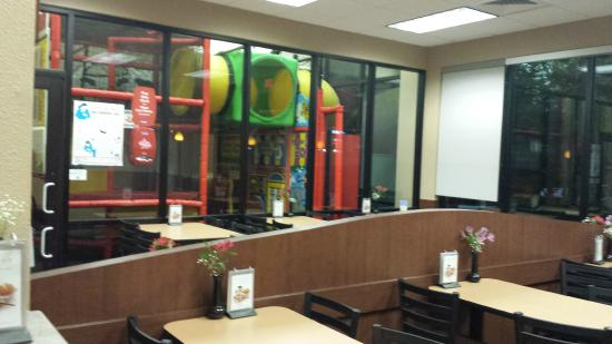 The Dining Room And Play Area Picture Of Chick Fil A Suwanee TripAdvisor