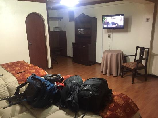 Royal Inka II : Room 402, first stay, nice and quiet, no windows(upon request)