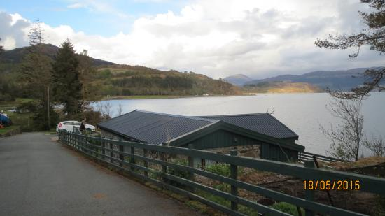 Balmacara Mains Guesthouse: View from the Bedroom