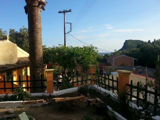 Manganas Studios: Views from the balcony
