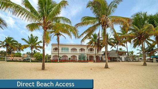 هوتل ألبيمارل: Direct Beach Access