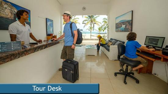 Hotel Albemarle: Tour Desk - Get the best tours while in Galapagos