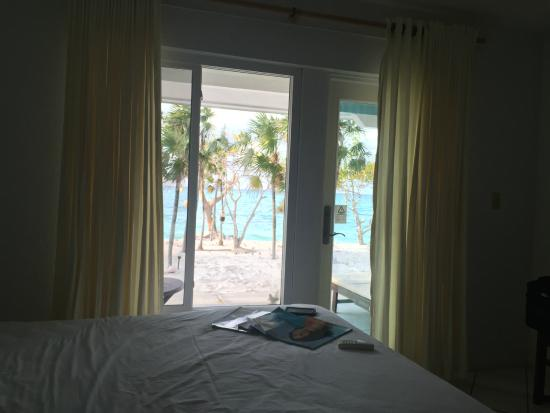 Whitby, North Caicos: View from our room