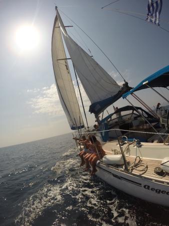 AEGEO Sailing Yacht: sailing