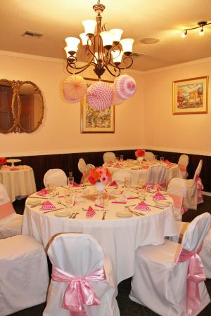 The Back Burner Restaurant: Food And Service Were Great For The Baby Shower.