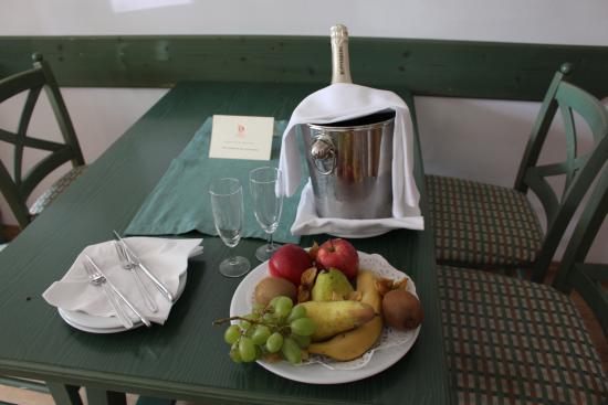 Cordial Golf & Wellness Hotel Reith: kleine Aufmerksamkeit