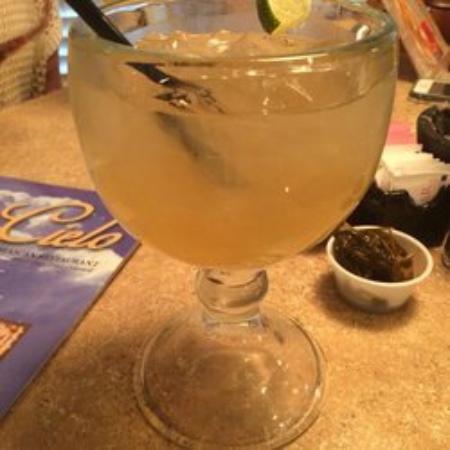 El Cielo II Mexican Restaurant: Top shelf Margarita