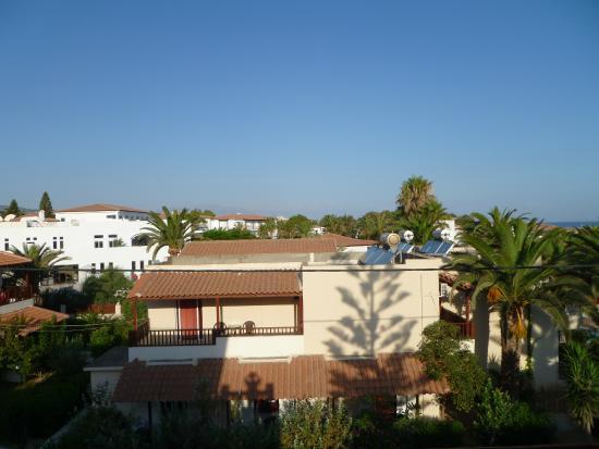 Jo-An Beach Hotel : výhled z balkonu