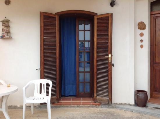 B&B Villa Trinacria: L'entrata della nostra camera