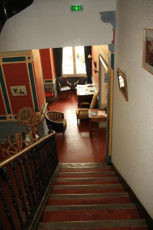 """Hotel Colombet: Un des """"petits salons"""""""