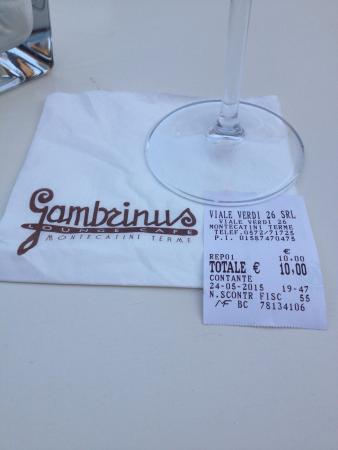 Gambrinus Lounge Cafe' & Restaurant: Not worth a cent