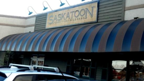 Saskatoon Steaks Fish Wild Game: Great restaurant without being over the top!